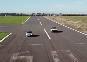 Audi RS4 vs Porsche Cayenne Turbo