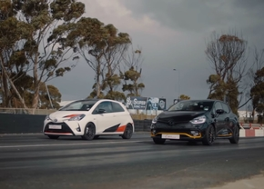 yaris grmn vs clio rs