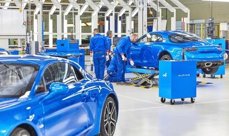 Renault Alpine toekomst besparingen
