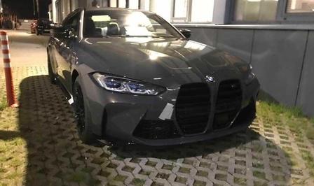 BMW M4 2020 gelekt