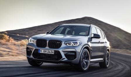 Rijtest BMW X3 M Competition 2020