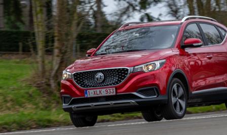 MG ZS EV rijtest 2020 Autofans