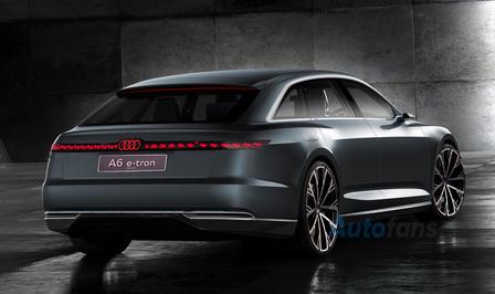 Audi A6 Avant e-tron render