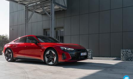 Essai : Audi RS e-tron GT (2021)