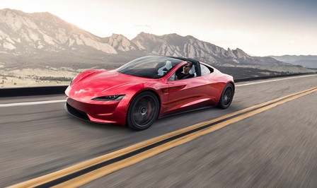 Tesla Roadster production 2023