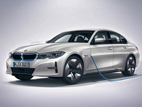 BMW 3 Reeks EV Electric elektrisch render