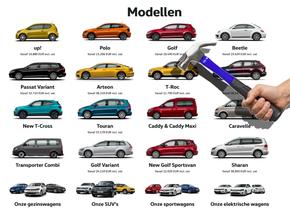 VW line-up 2019