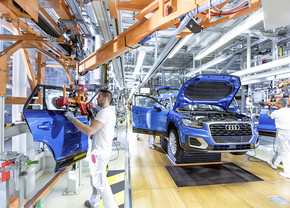 audi production unit