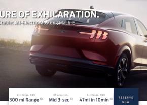 Ford Mach-E leaked info