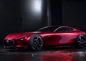 Mazda RX-9 gerucht wankelmotor patent