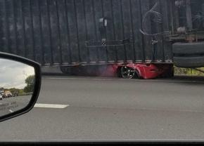 Nissan 350Z crash