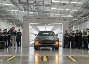 Aston Martin DBX productie start