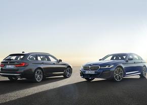 BMW 5 Reeks facelift 2020