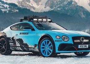 Bentley Continental GT Ice race