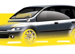Fiat Multipla design Niels van Roij
