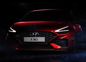 Hyundai i30 N-Line facelift teaser