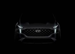 Hyundai Santa Fe 2020 teaser