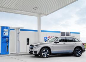 Mercedes waterstof einde GLC F-Cell fuel cell