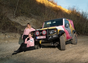 Suzuki Aicha Rally des Gazelles 2020
