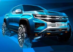 Volkswagen Amarok Ford Teaser 2022