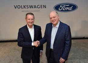 Ford Volkswagen samenwerking