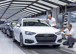 Audi suspend la production de ses A4 et A5