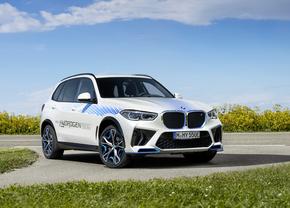BMW iX5 waterstofauto 2021 voorkant