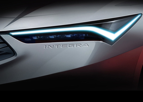Acura Integra teaser