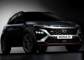 Hyundai Kona N teaser (2021)