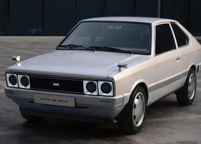 Hyundai Pony EV restomod 2021