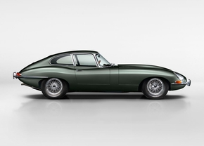 Jaguar E-Type : 60 ans à Autoworld