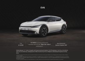 Kia EV6 prix Belgique