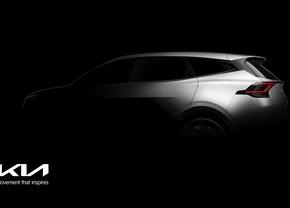 Kia Sportage 2021 teaser