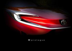 Toyota X-Prologue Concept teaser