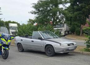 Citroën Xantia cabriolet gendarmerie France