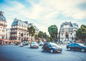 Parijs snelheid stad 30 km u