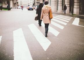 Voorrang voetgangers zebrapad