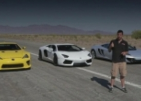 Aventador vs LFA vs MP4-12c vs Veyron Grand Sport