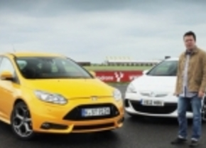 Ford Focus ST vs Opel Astra OPC