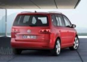 Volkswagen Touran facelift 2010