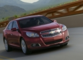 Chevrolet neemt Europese Malibu mee naar Frankfurt
