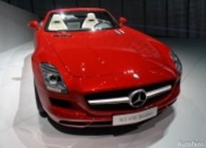 Mercedes SLS AMG Roadster Frankfurt