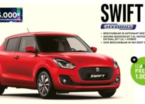 Suzuki Swift autosalon 2019 saloncondities
