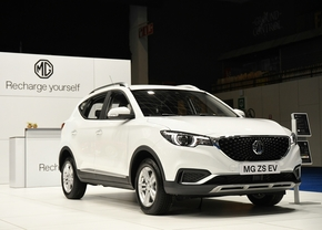 mg zs ev autosalon 2020