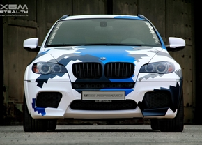 BMW X6 M Stealth Inside Performance