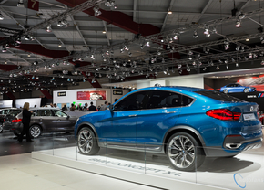 Live in Brussel 2014: BMW X4 concept