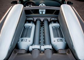 bugatti veyron grand sport engine