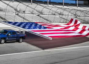 chevrolet-silverado-duramax-towing-flag