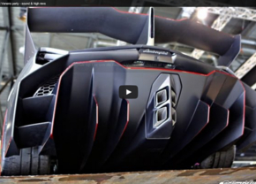 Lamborghini Veneno sound video