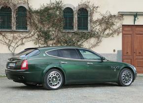 Unieke Maserati Quattroporte Shooting Brake wordt geveild